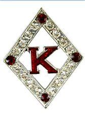 Kappa Alpha Psi Fraternity Diamond K Lapel Pin Phi Nu Pi