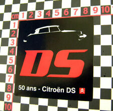 Citroen DS 50th Anniversary Sticker DS21 DS19 DS23 DS20