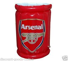OFFICIAL ARSENAL FC INFLATABLE DRINKS ICE COOLER BEER SUMMER PARTY XMAS GIFT