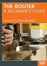 The Router: a Beginner's Guide (DVD) / woodworking