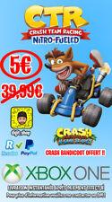 ⚜️ Crash Team Racing + Crash Bandicoot Xbox One [NO CD/ NO CODE] ⚜️