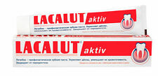 Lacalut Aktiv Medical Toothpaste 75ml Stop Bleeding and Beautiful Smile