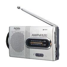 Mini Portable Pocket AM/FM Telescopic Antenna Battery Powered Receiver Radio
