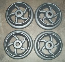 Cast iron ore cart wheel set 8 inch for large model mine car mining