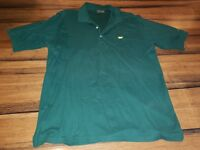 Mens Masters Collection green pima cotton xLarge golf polo shirt 60's Two Ply