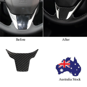 For Honda Civic 10th Gen 16-19 Carbon Fiber Interior Steering Wheel Trim Cover