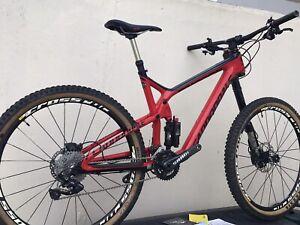 Cannondale Trigger 2 Carbon Lefty Medium full suspension mountain bike 27.5