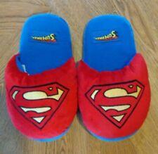 Superman unisex DC comics size medium super soft house shoes