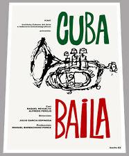 "24x36""Cuban movie Poster for art film Diario de Jose Marti.Cuba history.Horse"