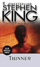 Thinner by Richard Bachman and Stephen King (2009, Paperback)