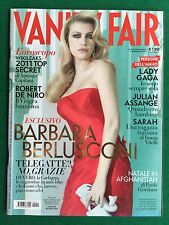 VANITY FAIR n.51/2011 (ITA) BARBARA BERLUSCONI LADY GAGA ROBERT DE NIRO ASSANGE