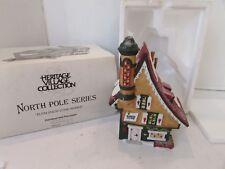 Dept 56 56332 Elfin Snow Cone Works North Pole Village Building No Cord D14