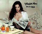 Elizabeth Marxs Signed Sexy CGOM Authentic Autographed 8x10 Photo PSA/DNA W13337