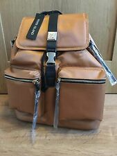 River Island  large Burnt orange satin backpack Brand new with tags