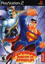 Superman Shadow of Apokolips PS2 New Playstation 2