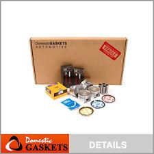 Fits 01-05 Honda Civic DX LX VTEC Full Gasket Pistons Bearings Rings Set D17A1