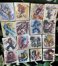 Bandai Dragonball Z Shikishi Art 6 [ALL 16 Complete Set] [UK Seller] [NM]