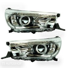 HEAD LAMP LED PROJECTOR TOYOTA HILUX REVO M70 M80 SR5 2015-ON GENUINE