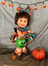 Galoob Baby Face 3 Piece Dress Set~ NO DOLL~ Tiny Hearts Print So Sweet??
