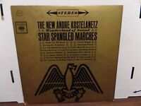 The New Andre Kostelanetz Star Spangled Marches Columbia CS-8518 33rpm 081116DBE