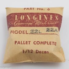 Longines Genuine Material Pallet Complete Part 6 for Longines Cal. 22L/22A