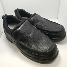 Apex Shoes Black Classic Moc Biomechanical Mens 11 Wide B5000M