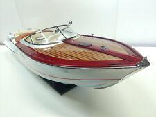 Riva - Gucci - bateau bois - 86 cm