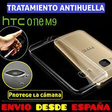 FUNDA TPU DE GEL 100% TRANSPARENTE PARA HTC ONE M9 CARCASA PLASTICO