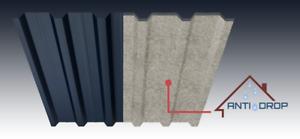 Antikondensvlies für Dach und Trapezblech zum Nachrüsten