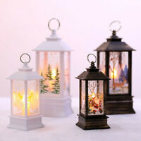 Christmas Decoration Home LED Tea Candles Light Santa Claus Snowman Xmas Tree