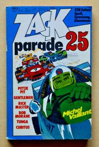 Zack parade 25  Koralle Verlag 1977  gebraucht Z 2