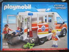 AMBULANCIA 5541 Playmobil Con Embalaje Original