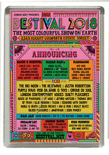 Bestival  2018 - Fridge Magnet Large 90 mm x 60 mm