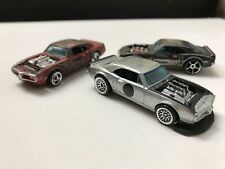 3 Hot Wheels Custom 67 Pontiac Fire Birds All 3 Unique In There Own Way