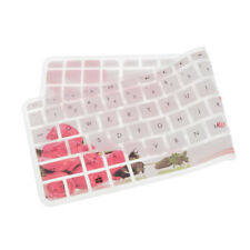 Silicone Keyboard Skin Cover Protector for HP 15'' Laptop PC Rose Pattern