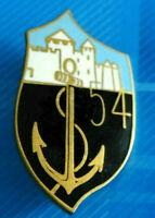 #2526# Joli insigne  du 54° Régiment d'Infanterie de Marine