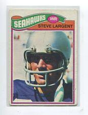 1977 Topps #177 Steve Largent Seattle Seahawks Rookie