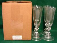Mikasa FRENCH COUNTRYSIDE Champagne Flute SET of FOUR More Available MINT IN BOX