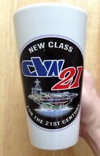 U. S. NAVY CVN-21 GERALD R. FORD CLASS AIRCRAFT CARRIER COFFEE MUG, NEW