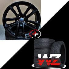 19 in Avant 1196 RS6 Style Wheels Matte Black w Tires Fits Audi A7 S7 A8 S8 Rims