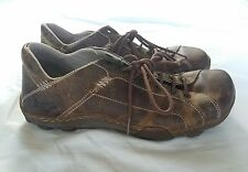 Dr Martens Air Wair Mens Brown Leather Distressed Casual Shoes Size 9