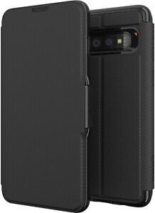 GEAR4 SAMSUNG GALAXY S9 / S10 / S10 PLUS OXFORD CARD SLOTS FOLIO CASE | BLACK