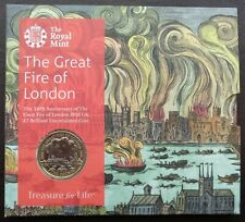 More details for 2016 royal mint £2 coin pack great fire of london