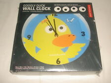 NIB Kikkerland Googly Duck Wall Clock