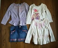 Gap desert rose 4t girls skirt and top lot. (Read description)
