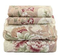 Beautiful Bedding Super Soft Egyptian Comfort Sheet Set Striped Paisley