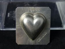 Vintage chocolate mold one up Heart Vormenfabriek Tilburg Holland #3399