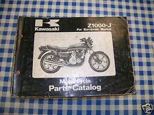 BB 99910-1169-01 catalogo ricambi  KAWASAKI Z1000-J  ediz. 1980