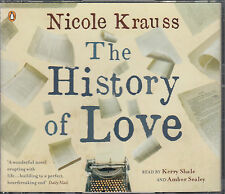 Nicole Krauss The History Of Love 3CD Audio Book Abridged  FASTPOST