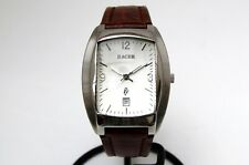 RACER men's stainless steel quartz wrist watch  U13714  Great condition  (RB42)